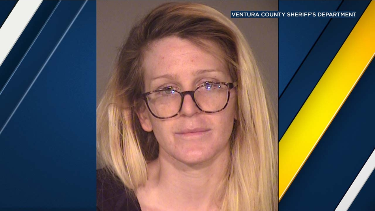 Erin Bond, 26, is seen in a booking photo released by the Ventura County Sheriff's Department.