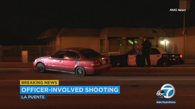 West Covina police shoot robbery suspect following short pursuit