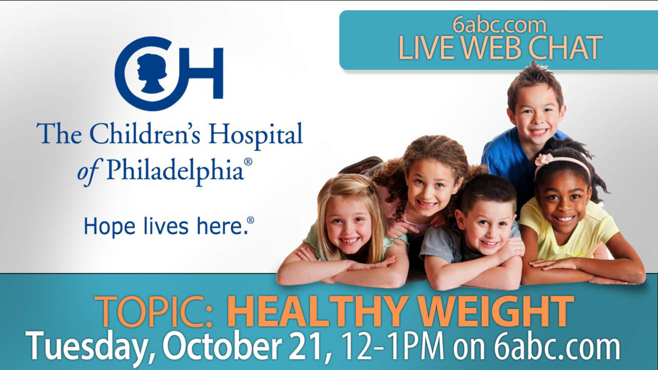 Chat with CHOP on Tuesday October 21 - TOPIC: Healthy Weight