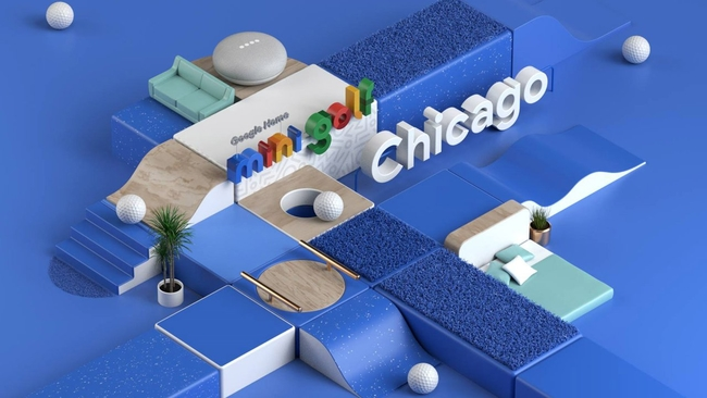 Google builds mini golf course in Chicago's Loop   abc7chicago.com on miniature putting green, softball course design, 3d archery course design, dog rally course design, croquet course design, equestrian course design, cross country running course design, shooting course design, putting course design, obstacle course design, miniature golfing, sporting clay course design, rafting course design, show jumping course design, putt-putt course design, zip line tower design, laser tag course design, paintball course design, miniature home, culinary arts kitchen design,