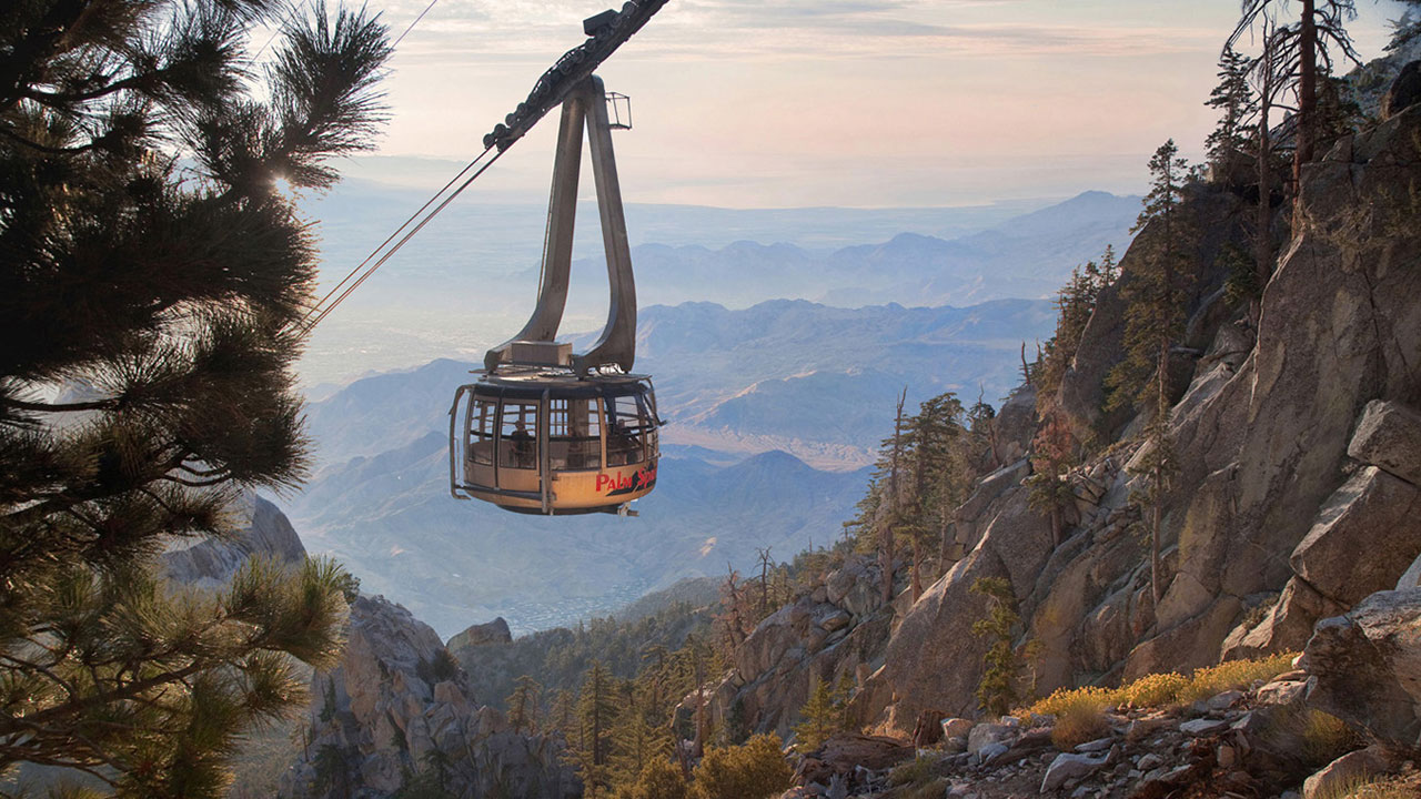 The Palm Springs Aerial Tramway is giving members of the military a chance to enjoy the tramway's scenic views free of charge in July.