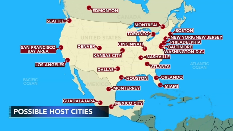 Philadelphia bids to host 2026 World Cup matches on mykonos on world map, hue on world map, fremont on world map, kano on world map, gdansk on world map, babylon city on world map, altamira on world map, kauai hawaii on world map, chicago on world map, montreal on world map, longyearbyen on world map, mexico city on world map, buenos on world map, new york on world map, charles town on world map, tokyo on world map, california on world map, disneyland on world map, canberra on world map, sanaa on world map,