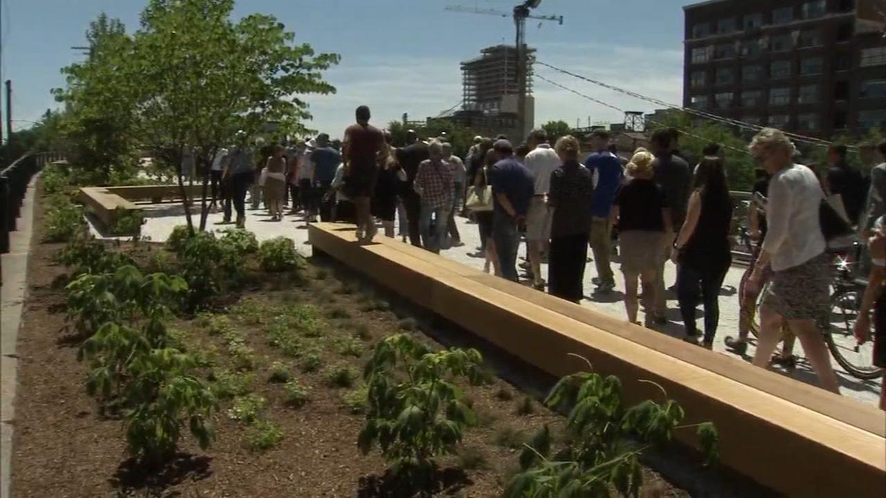 Rail Park opens in Spring Garden section of Philadelphia   6abc.com