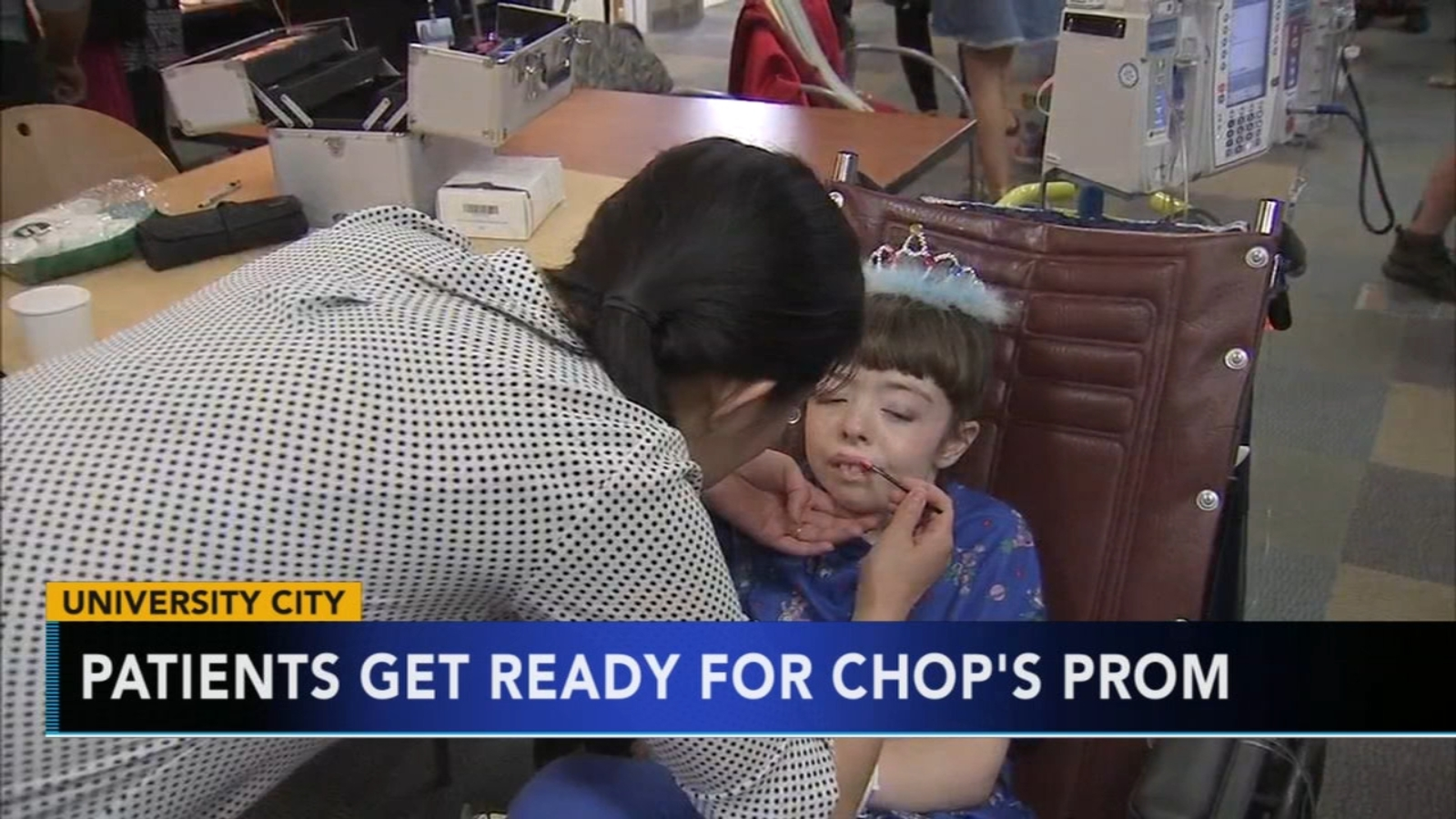 Children's Hospital patients get ready for CHOP Prom