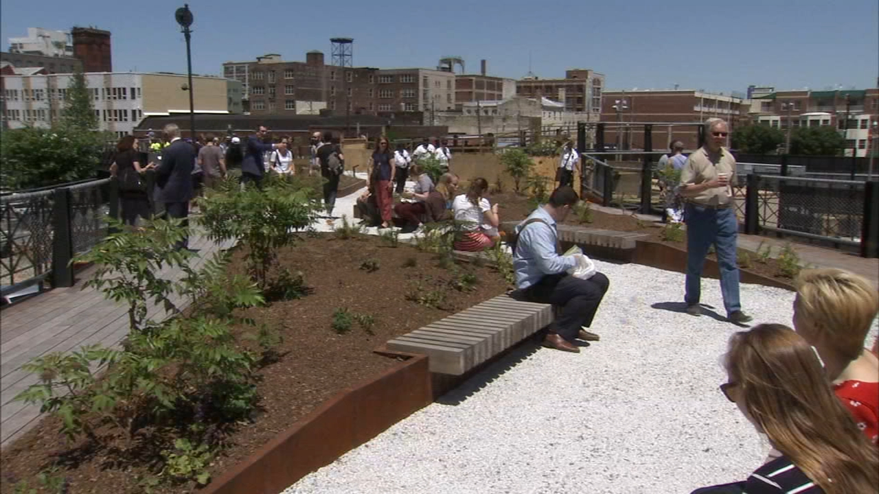 Rail Park opens in Spring Garden section of Philadelphia | 6abc.com