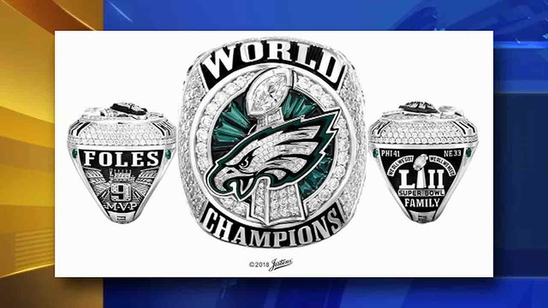Eagles Receive Super Bowl Rings
