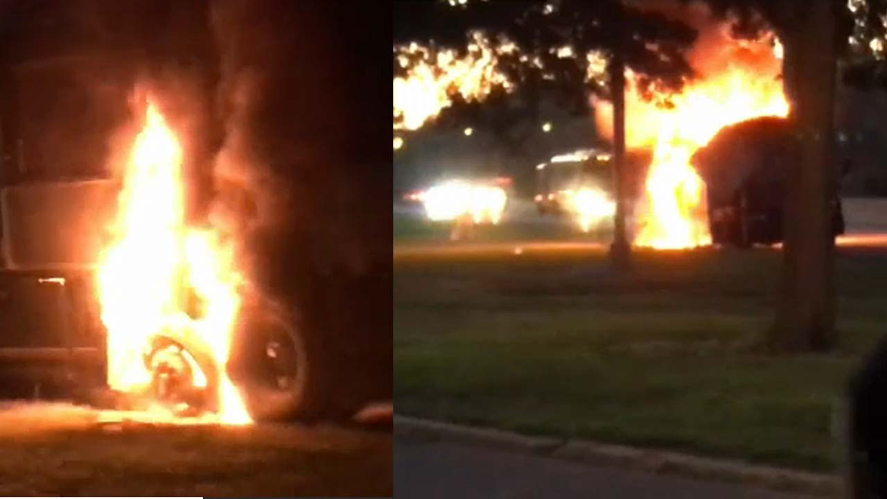 We could have died\': Passengers escape bus fire on New Jersey ...