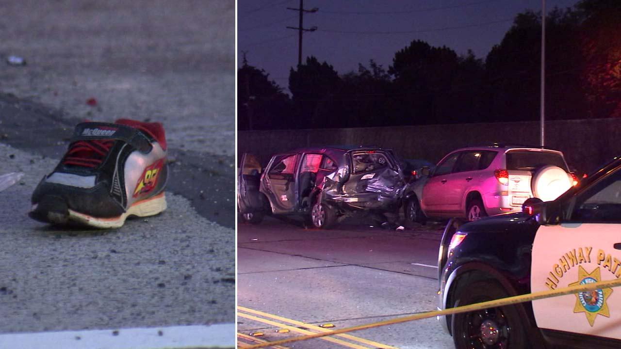 Father, son killed in 405 Freeway crash in Seal Beach