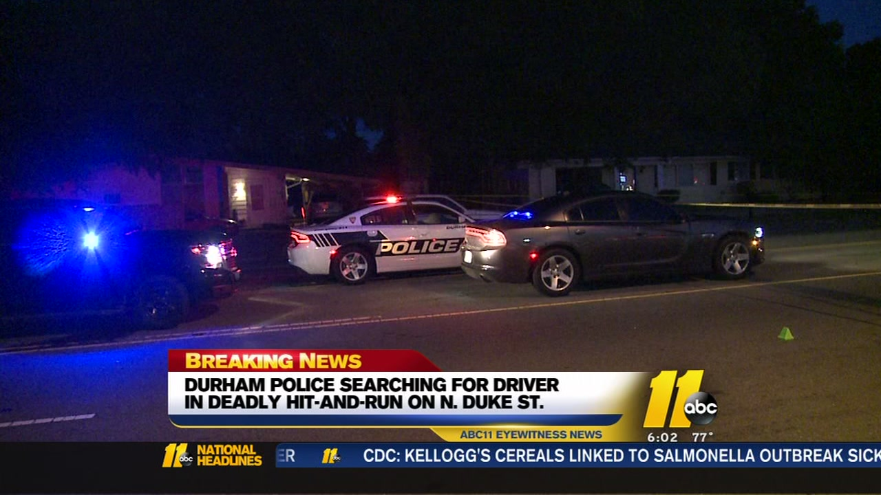 Durham police are investigating after a pedestrian was struck and killed while crossing the street at North Duke Street and Horton Road.