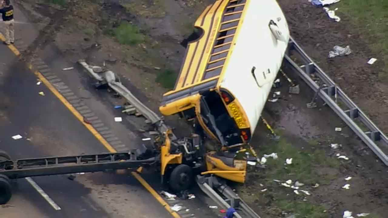 New Jersey school bus crash survivor calls for better seat belts