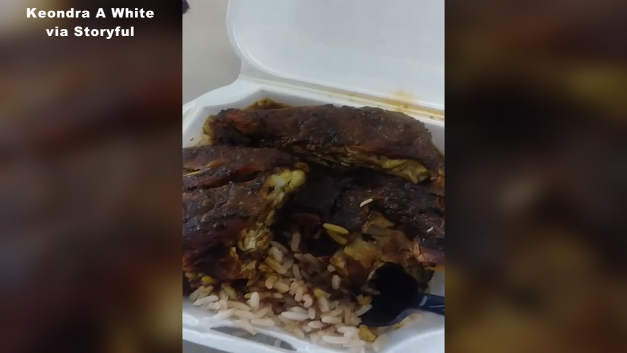 Viral Video Woman Finds Maggots In Jerk Chicken Dish From Florida