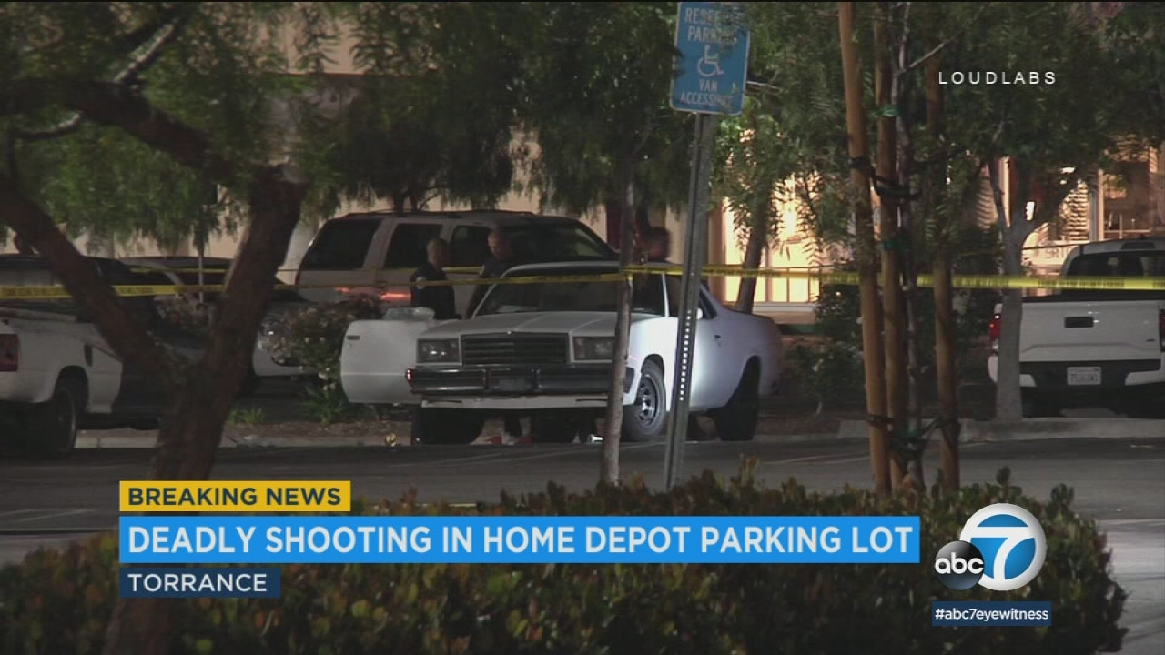 Shooting at Torrance Home Depot parking lot leaves man dead | abc7.com