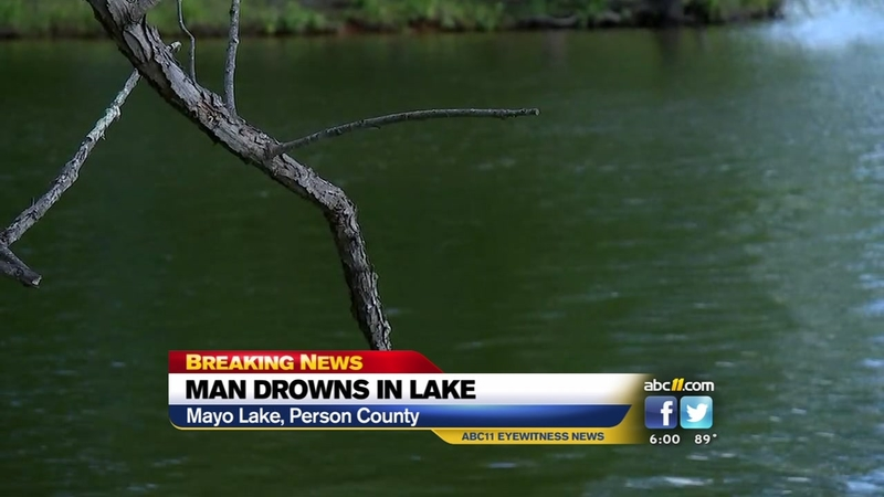 Officials respond to drowning at Person Co  lake