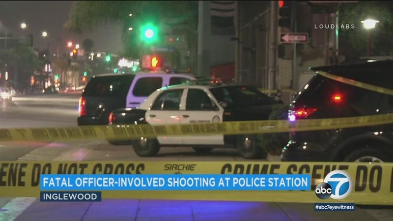 Man killed after allegedly pointing fake gun at Inglewood officers