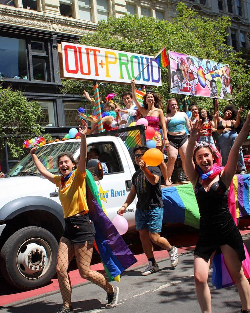 """<div class=""""meta image-caption""""><div class=""""origin-logo origin-image none""""><span>none</span></div><span class=""""caption-text"""">People are seen celebrating at the Pride Parade in San Francisco on Sunday, June 24, 2018. (@sfdaybyday/Instagram)</span></div>"""