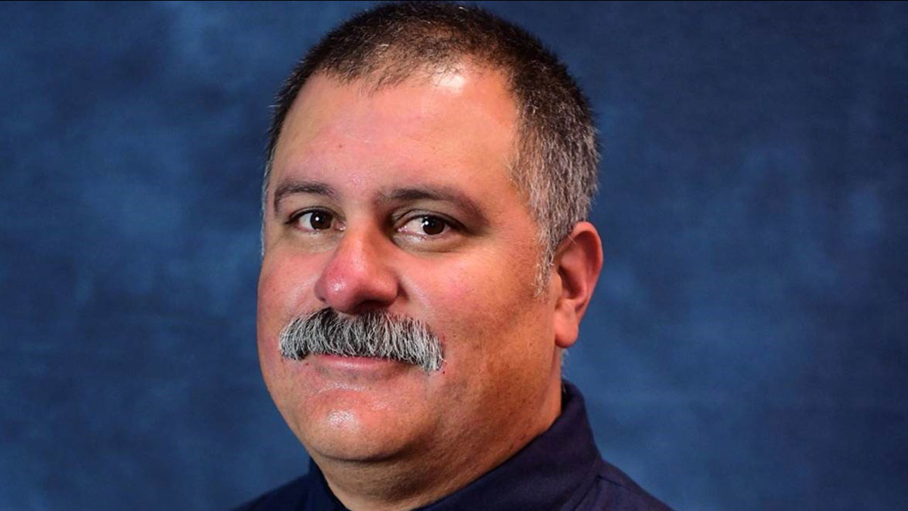 Long Beach Fire Capt. David Rosa, 45, is shown in a photo.