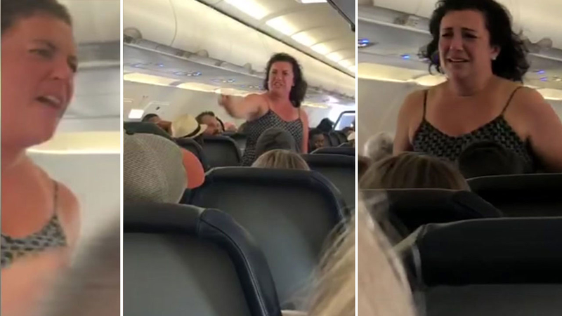 'People were pretty scared' Passengers describe tense scene after woman's  outburst on Spirit flight from Houston