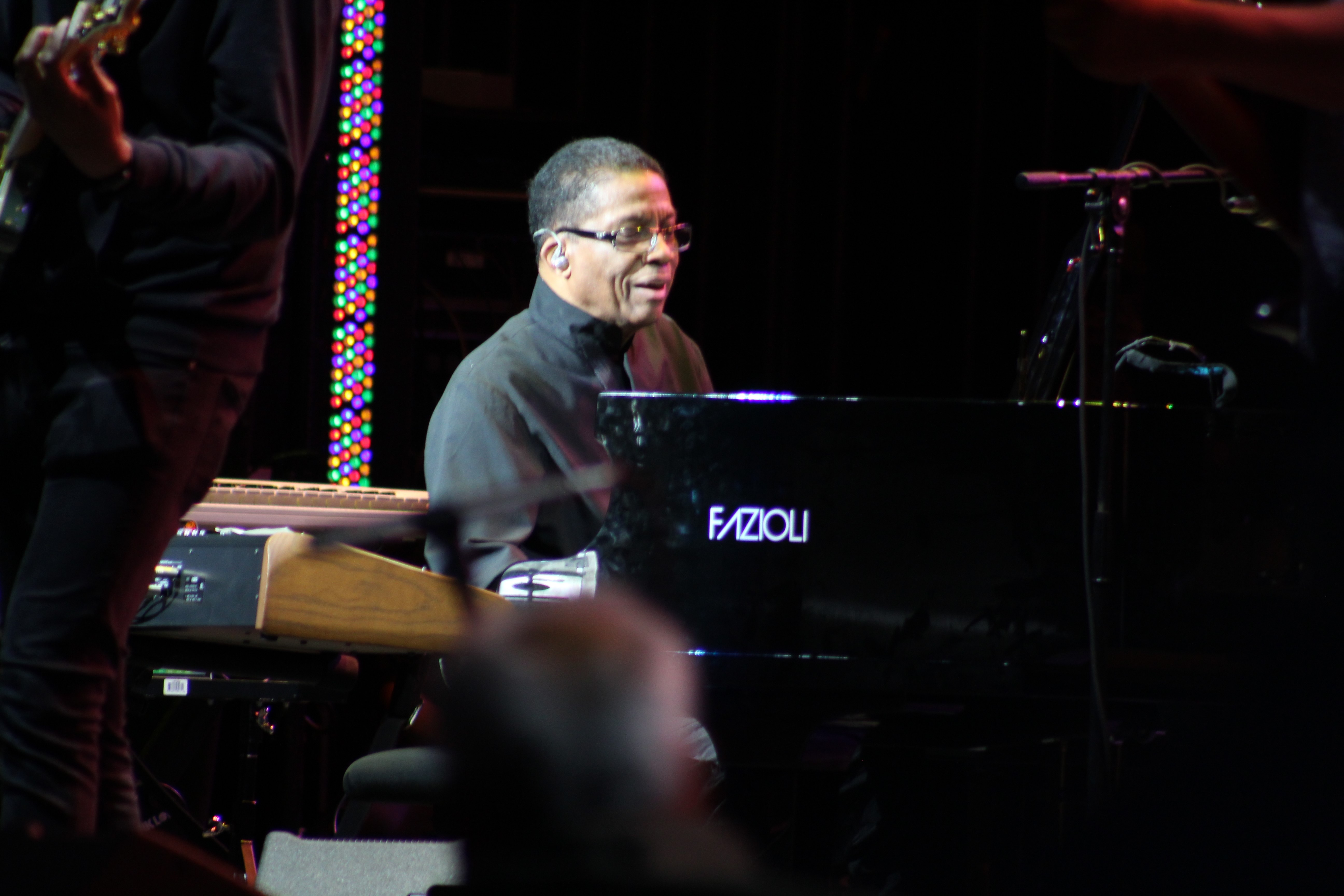"<div class=""meta image-caption""><div class=""origin-logo origin-image wabc""><span>WABC</span></div><span class=""caption-text"">Herbie Hancock performs Saturday Night on the Amphitheater Main Stage on Saturday Night. (Calvin B. De Mond)</span></div>"