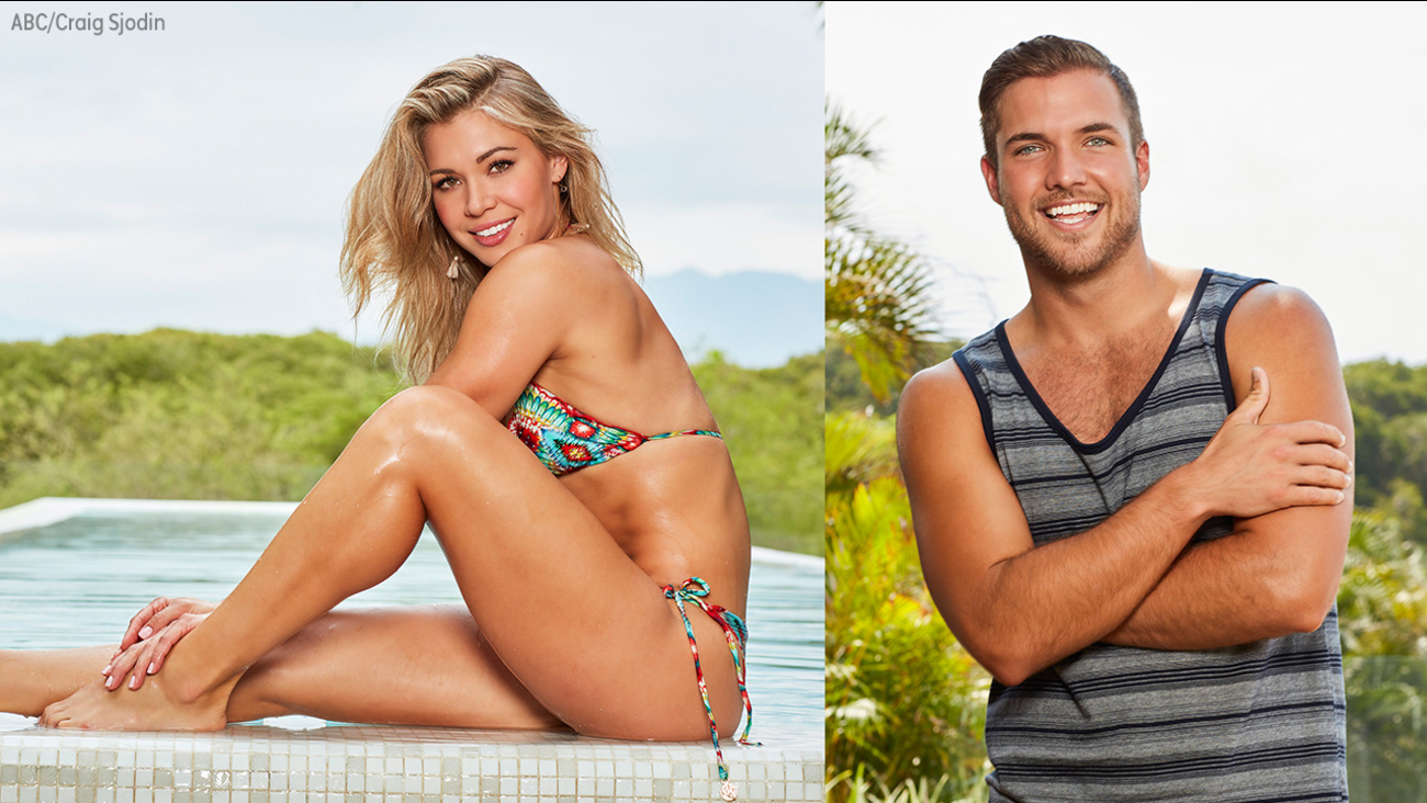 Image of bachelor in paradise contestants