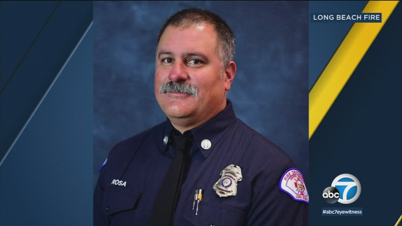 Southern California is remembering Long Beach firefighter Capt. David Rosa, who was fatally shot at a senior housing complex Monday.