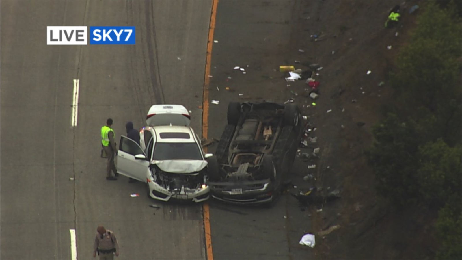 All lanes reopen after fatal crash on westbound Highway 24 in