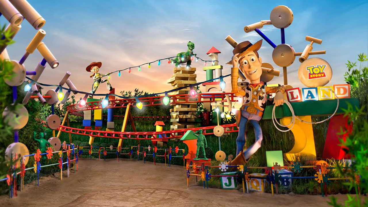 Toy Story Land To Bring Ultimate Celebration Of Toys To Walt Disney