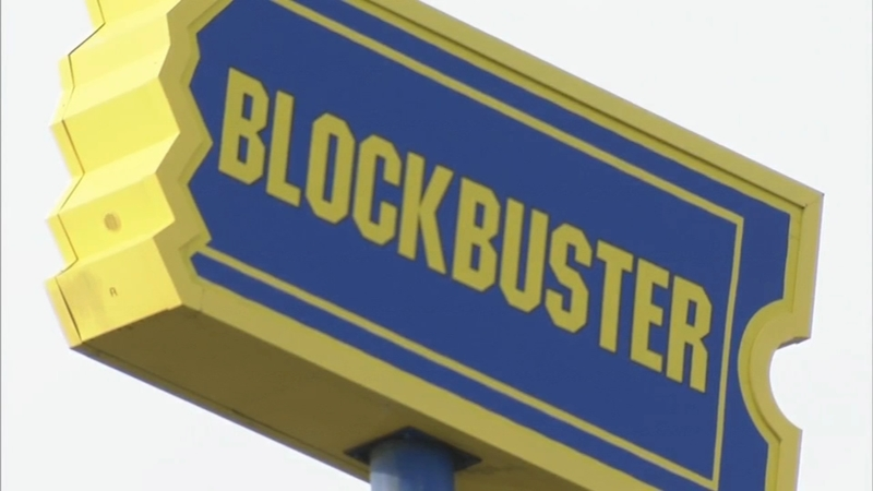 Blockbuster Video sign rewinds time in South Philly
