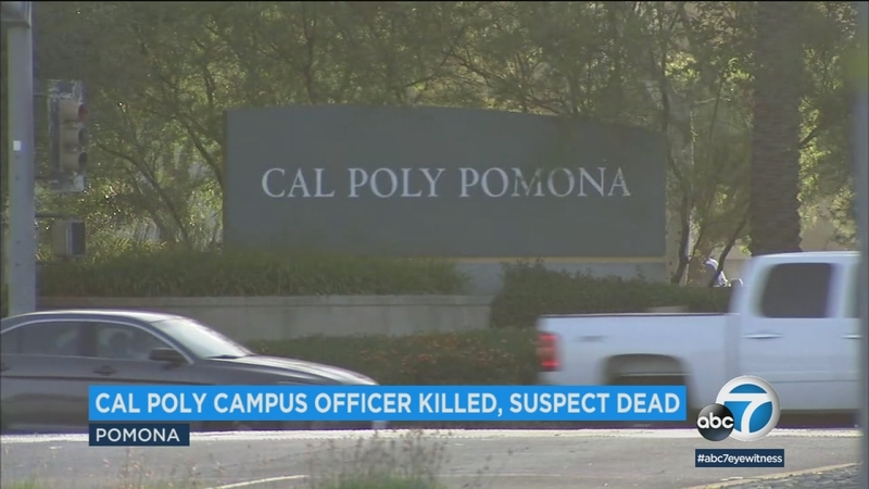Cal Poly Pomona officer stabbed to death on campus, police say