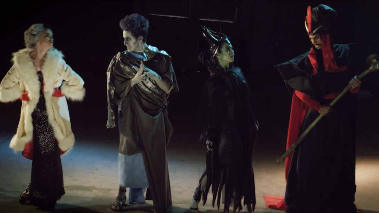disney villains give evil take on one republic's hit song 'counting