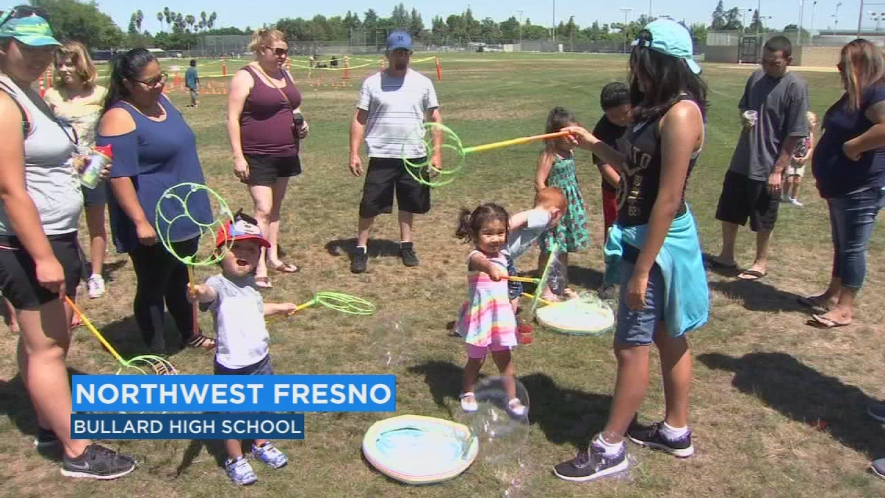 Free community carnival at Bullard High hosted by City of Fresno