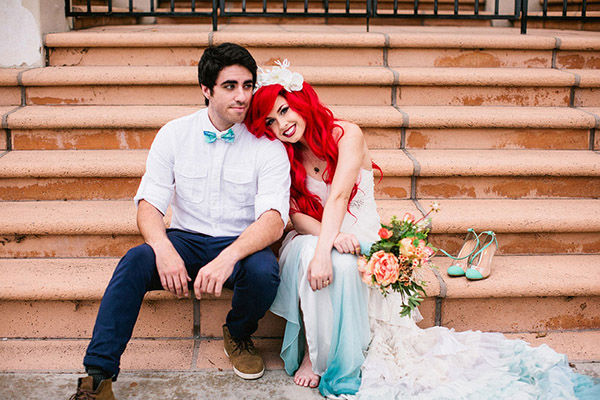 Little Mermaid Wedding Takes Disney Themed Nuptials To The Next Level