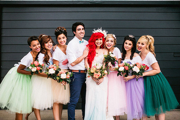 This Little Mermaid Inspired Wedding Photo Shoot Is A Must See For Anyone Who Dreams Of Being Disney Princess Mathieu And Mark Brooke Photography