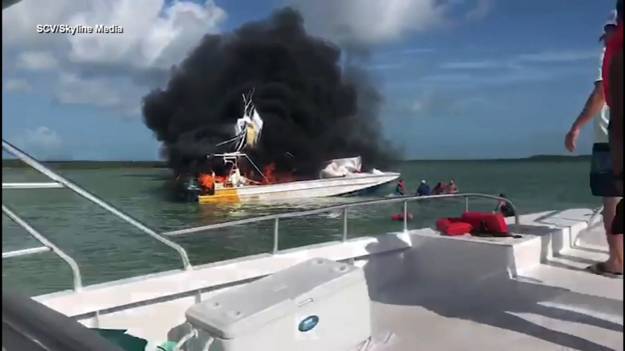 One dead, nine injured after boat explosion in the Bahamas