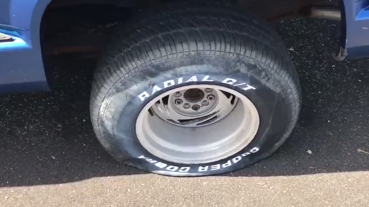 Tires Slashed In Galveston