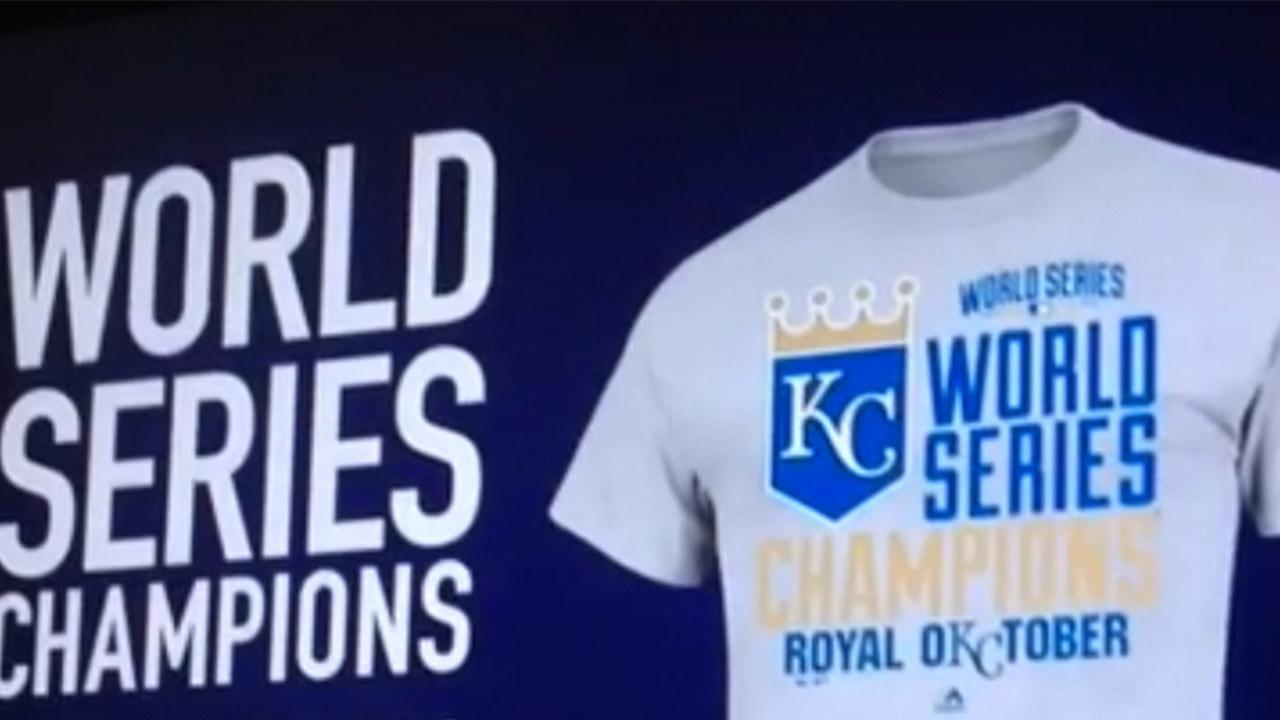 royals world series champions t shirt