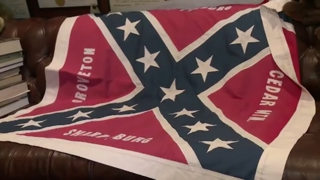 Neighbors At Odds With History Buff For Flying Confederate Flag In