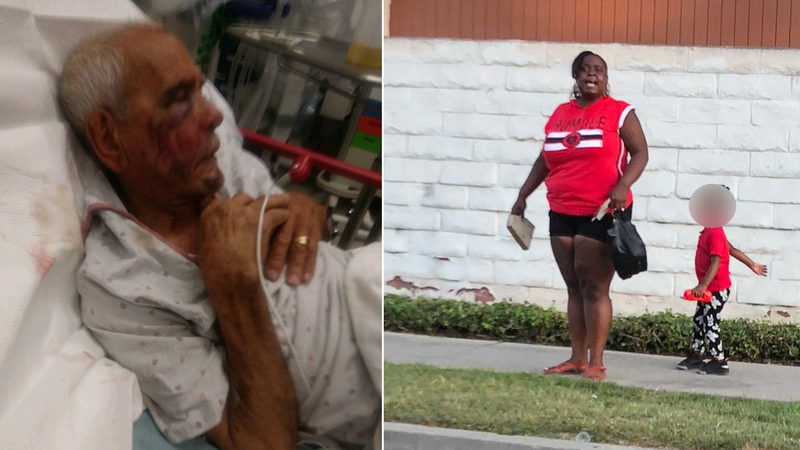 Suspects caught on video beating elderly man in Willowbrook