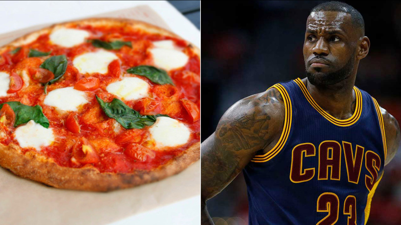Blaze Pizza is celebrating the arrival of LeBron James to the Lakers by offering free pizza on Tuesday to customers in Los Angeles.