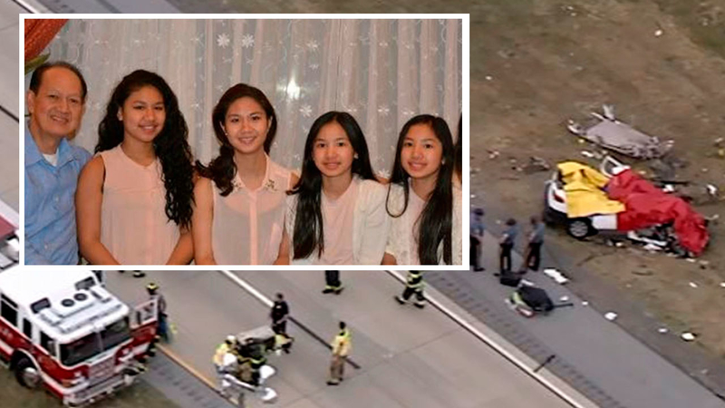 Father, 4 daughters from Teaneck, New Jersey killed in Delaware crash