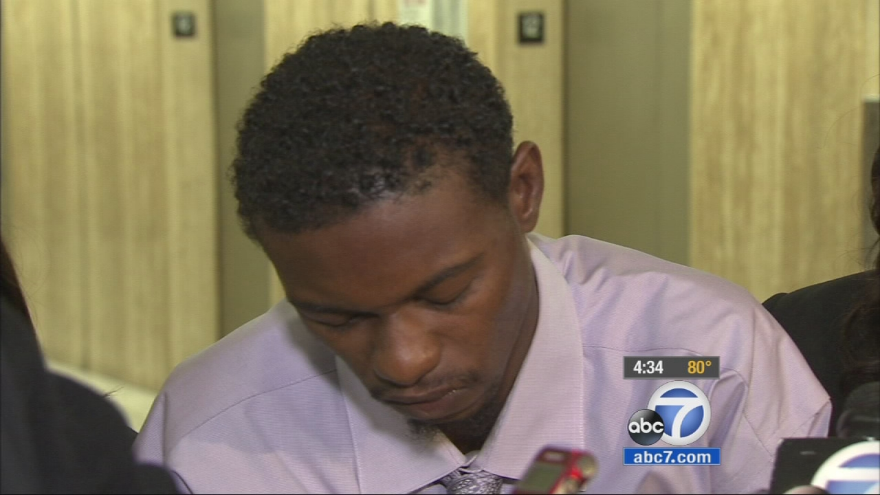 A 22-year-old man said he suffered cuts and Taser marks at the hands of overly-aggressive LAPD officers.