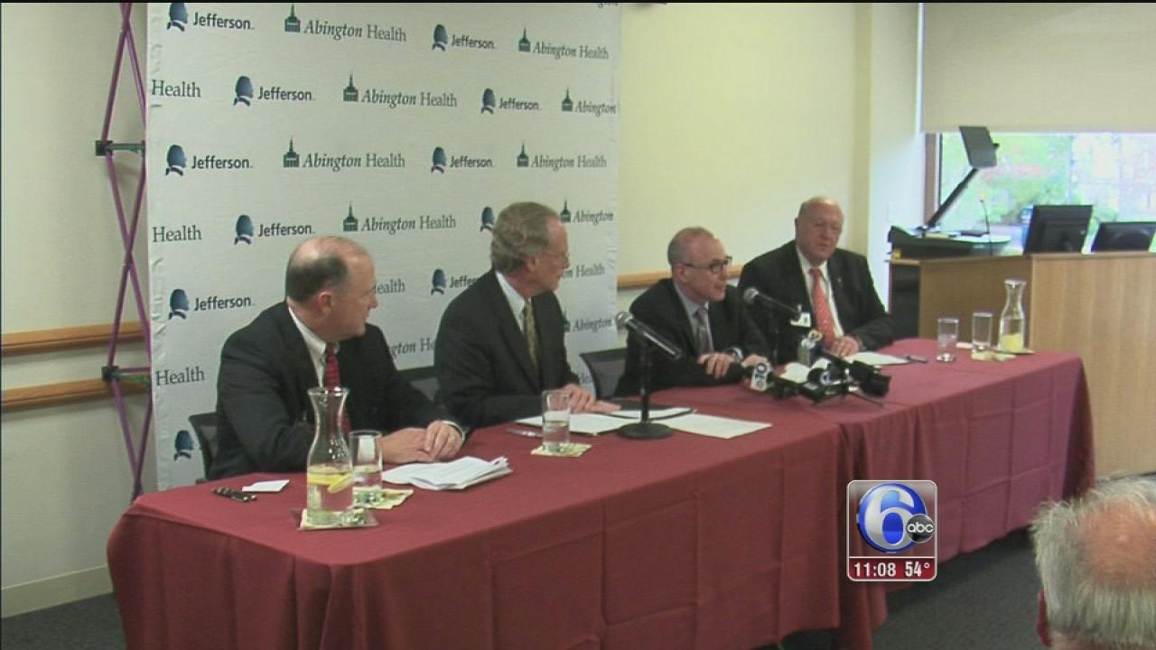 VIDEO: Jefferson, Abington Health move closer to a merger