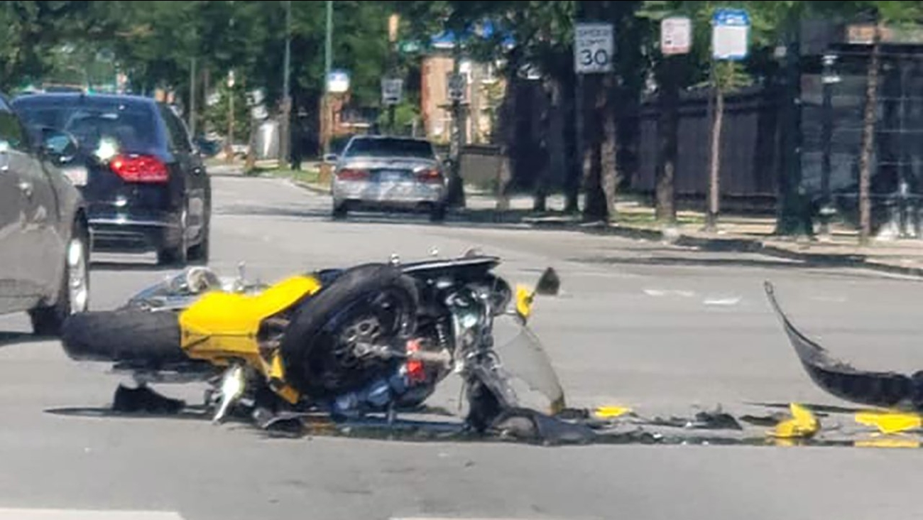 Motorcyclist Dies In Crash On South Side