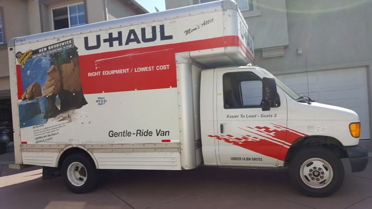 U-Haul stolen with Oakland music teacher's instruments and