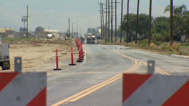 Road resurfacing project begins in Tulare County