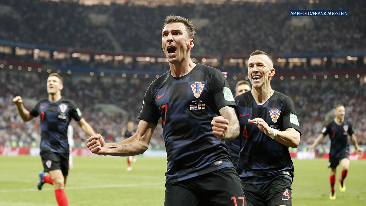 eaafc6655 Croatia headed to 2018 World Cup Final after defeating England 2-1 ...