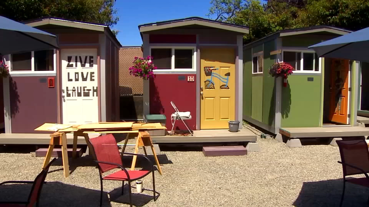 See Inside Seattle's New Tiny House Village For Homeless