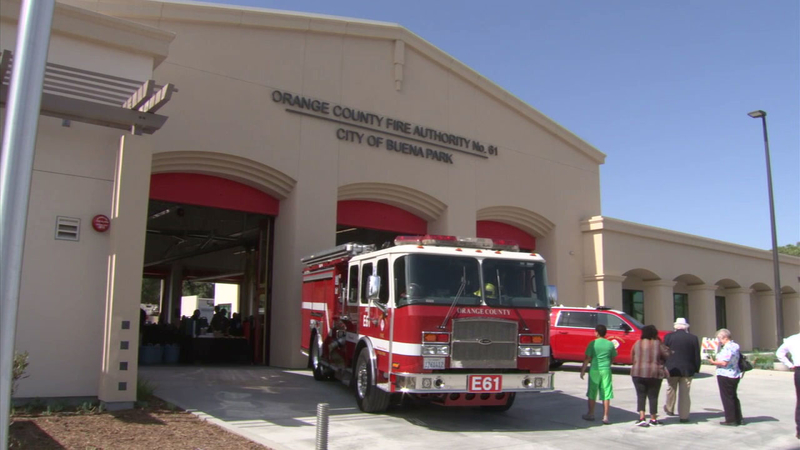 Fire Station 61 in Buena Park rebuilt after fire