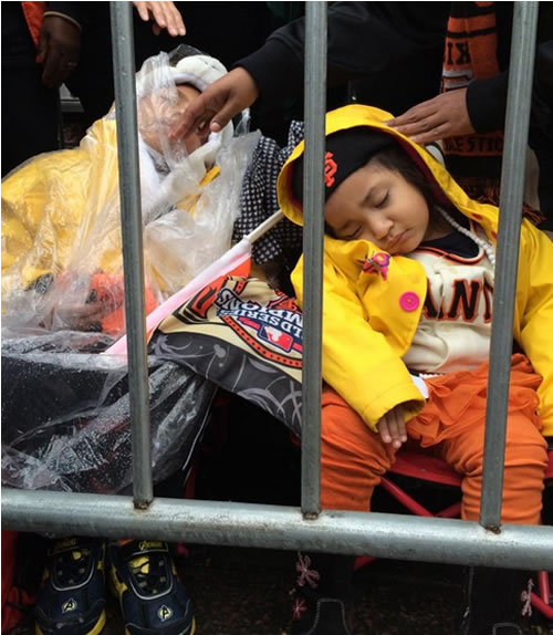 "<div class=""meta image-caption""><div class=""origin-logo origin-image ""><span></span></div><span class=""caption-text"">Thousands of people came out to celebrate during the San Francisco Giants 2014 Victory Parade in San Francisco, October 31, 2014. (ABC7 News/Katie Marzullo)</span></div>"