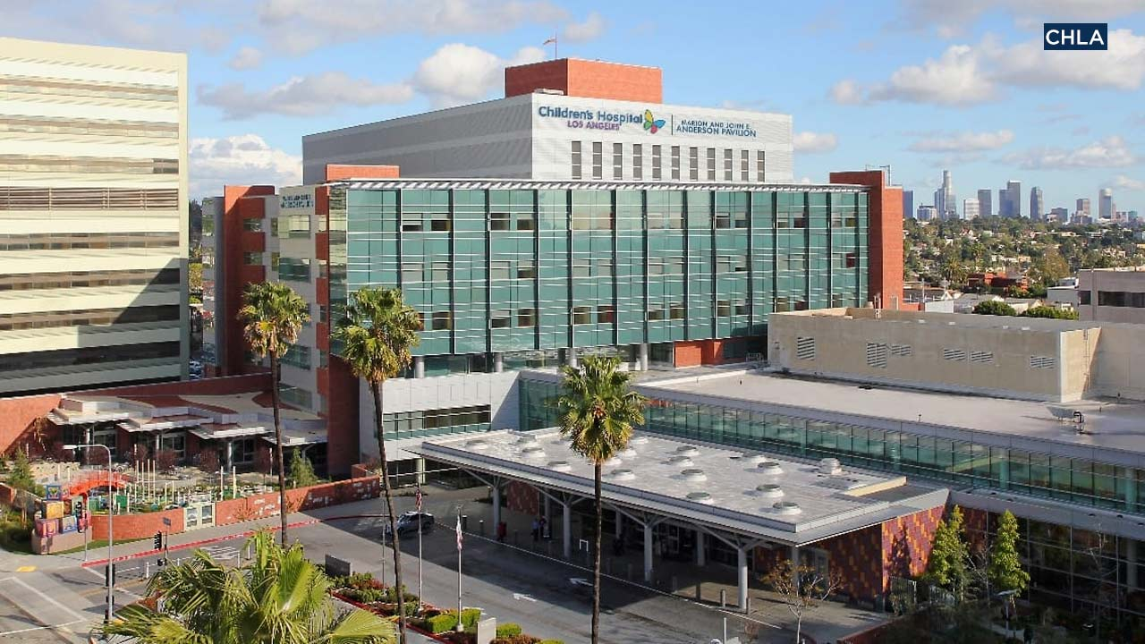 File photo of Children's Hospital Los Angeles.