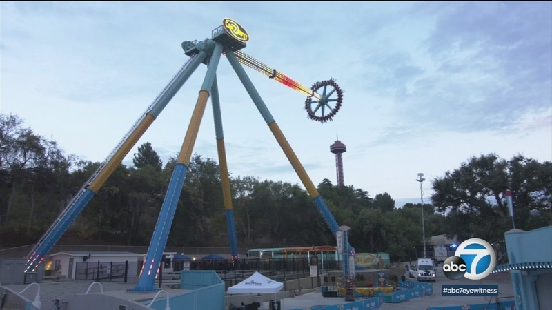 Magic Mountain Debuts New Pendulum Ride Crazanity